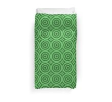 Coniferous Green Magic Mandala Duvet Cover