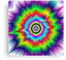 Psychedelic Explosion Canvas Print
