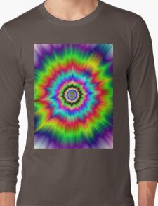 Psychedelic Explosion Long Sleeve T-Shirt