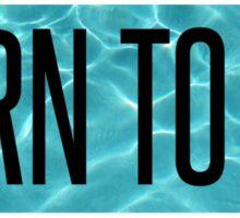 Born To Die - Lana Del Rey Sticker