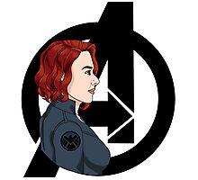 The Avengers: Black Widow Photographic Print