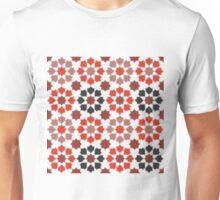 Red Color Tiles Unisex T-Shirt