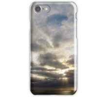The Sun's Cloudy Entrance iPhone Case/Skin