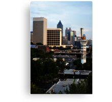 Atlanta - Capital of The South Canvas Print