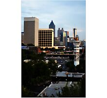 Atlanta - Capital of The South Photographic Print