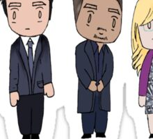 BAU unit Criminal minds Sticker