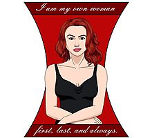 Black Widow: My Own Woman Photographic Print