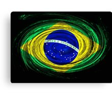 Brazil Twirl Canvas Print