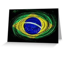 Brazil Twirl Greeting Card