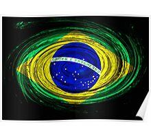 Brazil Twirl Poster