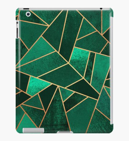 Emerald and Copper iPad Case/Skin