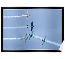 Yak  (The Aerostars display team) Poster