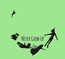 Never Grow Up by jlie3