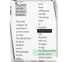 Poetry Challenge Part 2. iPad Case/Skin