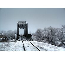 The Railroad Trestle Photographic Print