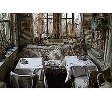 Designer dining Photographic Print