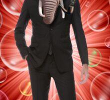 Mr. Elephant Sticker