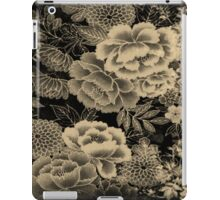 Vintage  Floral Abstract iPad Case/Skin