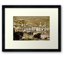 Ouro Preto, Brazil Framed Print