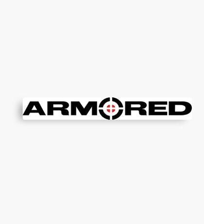 Armored Crosshair Canvas Print