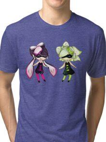 Squid Sisters Tri-blend T-Shirt