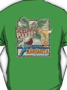 screaming parrot beach bar T-Shirt