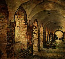 Arches at the house of the Holy Ghost by © Kira Bodensted