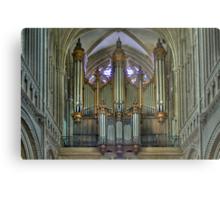 Notre-Dame de Bayeux -The Big Organ Cavaillé-Coll Metal Print