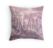 Dream Clouds Throw Pillow