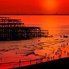 Brighton Sunset by shall