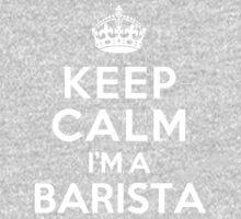 Keep Calm I'm a Barista Kids Clothes