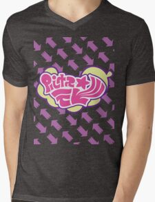 Splatoon Inspired: Callie and Marie News Splash Mens V-Neck T-Shirt
