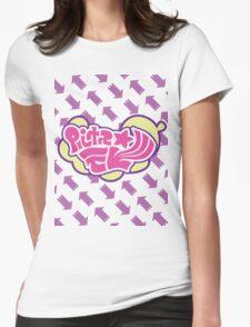 Splatoon Inspired: Callie and Marie News Splash Womens Fitted T-Shirt