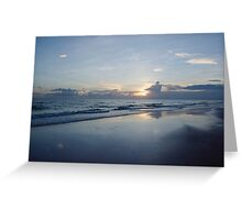 Cool Sunset Greeting Card