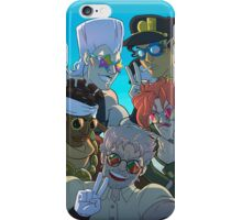 Jojo's bizarre sunglasses iPhone Case/Skin