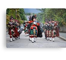 Queens Royal Guards, Ballater Scotland Metal Print