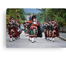 Queens Royal Guards, Ballater Scotland Canvas Print