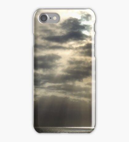 Reaching Through the Clouds iPhone Case/Skin