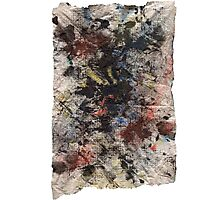 Primary Paper Towel Photographic Print