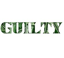 Guilty Photographic Print