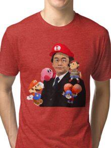 Iwata and Friends Tribute Tri-blend T-Shirt