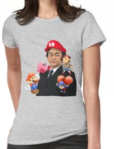 Iwata and Friends Tribute Womens Fitted T-Shirt