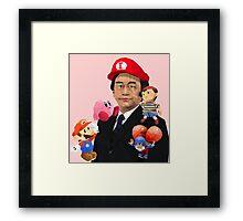 Iwata and Friends Tribute Framed Print