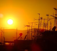 Sunset on civilisation by Themis