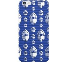 Blooper Nanny Blue iPhone Case/Skin