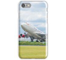 Virgin Atlantic Boeing 747 Takeoff iPhone Case/Skin