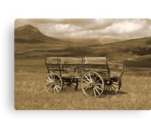 Days of the Past Canvas Print