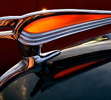1950 Chevrolet Hood Ornamant by Jeffrey  Sinnock