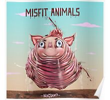 Misfit Animals Poster