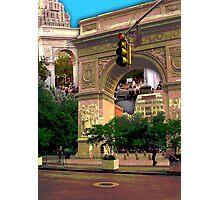 Washington Square Arch, Greenwich Village, NYC, NY Photographic Print